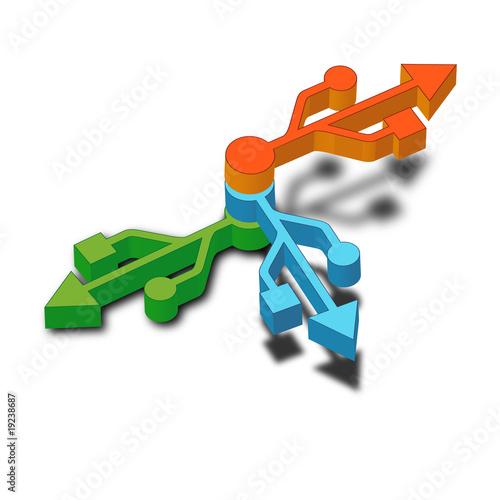 """USB HUB"" Stock image and royalty-free vector files on ..."