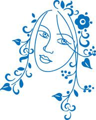 decorative girl
