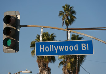 Hollywood Blvd Sign 2