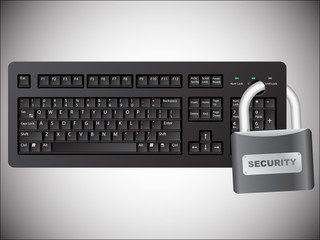 Secured keyboard