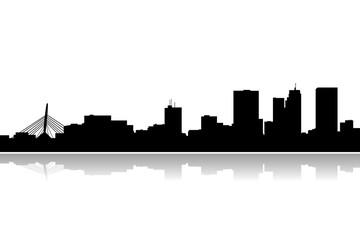 winnipeg city skyline vector