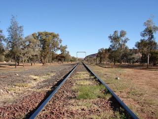 Railroad (Alice Springs, Australia)