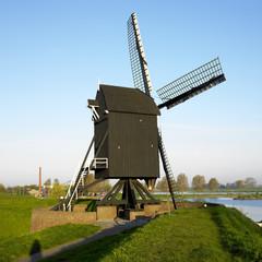windmill, Heusden, Netherlands