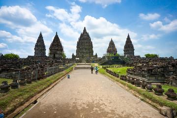 Aluminium Prints Indonesia Prambanan Temple, Yogyakarta, Java, Indonesia.
