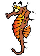 sea-horse vector