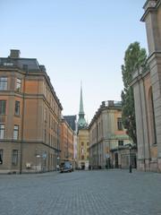 Street in Gamla Stan (Stockholm)