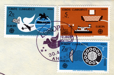 cept special postmark and stamps