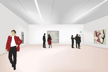 exhibition of art
