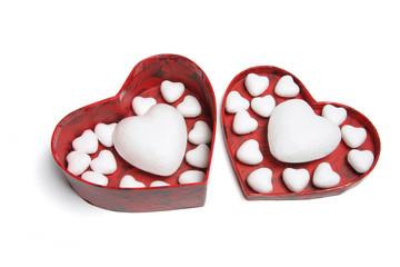 Love Hearts in Gift Box