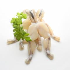 Photo sur Toile Grenouille cuisse de grenouille