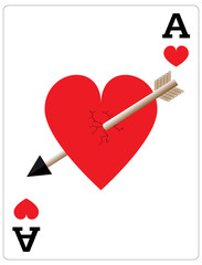 Ace of Hearts Valentine