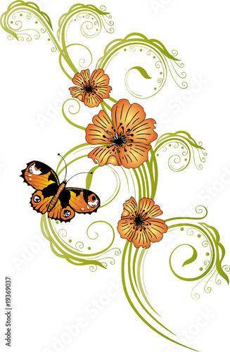 fr hling blumen bl ten ranken flowers floral stockfotos und lizenzfreie vektoren auf. Black Bedroom Furniture Sets. Home Design Ideas