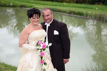 bonheur des mariés