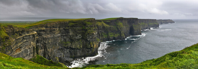 Wall Mural - Cliffs of Moher panoramic