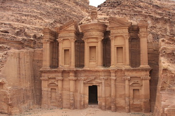 Le Monastère à Petra