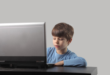 child and pc