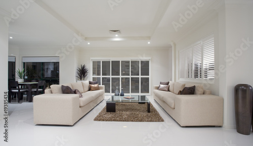 luxury home living room interior stock photo and royalty free