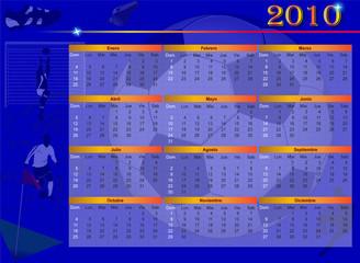 Calendario 2010 Futbol