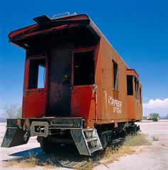 Eisenbahnwagon, Arizona, USA