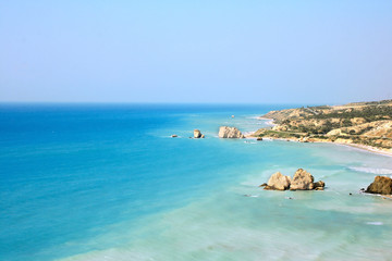 Stores photo Chypre Aphrodite's legendary birthplace in Paphos,Cyprus.