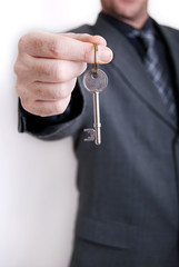 estate agent business man