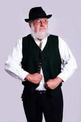 strong bavarian man