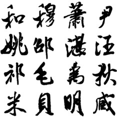 Hundreds of Chinese surnames(97-112)