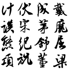 Hundreds of Chinese surnames(113-128)