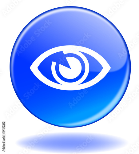 Bouton Voir View Button Play Eye Symbol Stock Photo And
