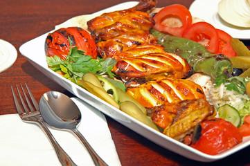 Kebab gegrillt