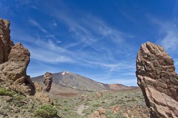Gesteinsformation - Teneriffa - Geological formation - Tenerife