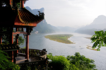 Li-river, Yangshuo, China