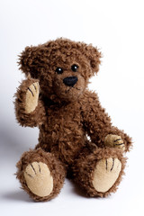Beautiful toy , bear Teddy.