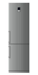 Modern refrigerator. Vector.