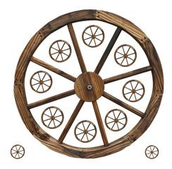 Wagon Wheels isolated