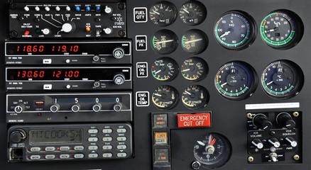 Cockpit d'hélicoptère