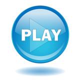 Blue film video play
