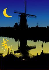 L'Olanda dei mulini