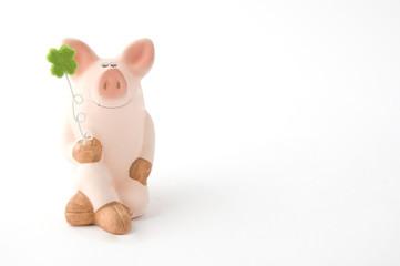 Silvester Glücksschwein