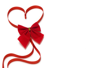beautiful red heart for valentine holiday