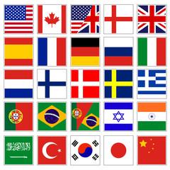 web language icon collection