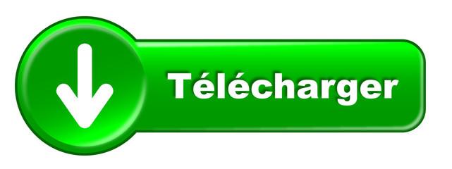 """Bouton web """"Télécharger"""" (gratuit ligne internet musique vidéo)"""