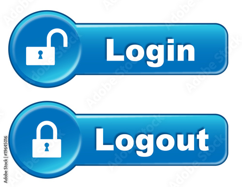 log in log out