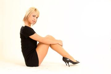 Beautiful Blond Young Woman