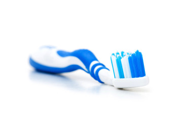 Tooth brush isolated on the white background