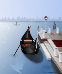 Gondole con vista San Marco