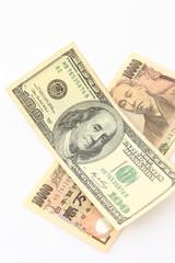dollar and yen