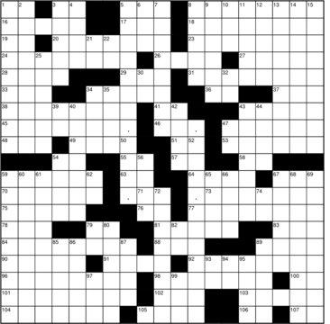 Blank background crossword vector
