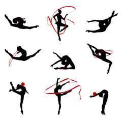 Fototapeten Gymnastik Gymnastique Rythmique SR 6