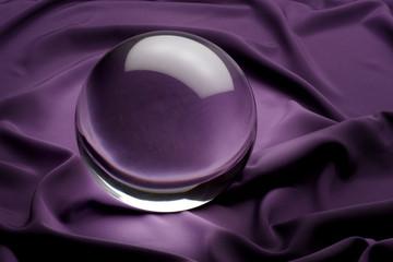 Crystal Ball on purple